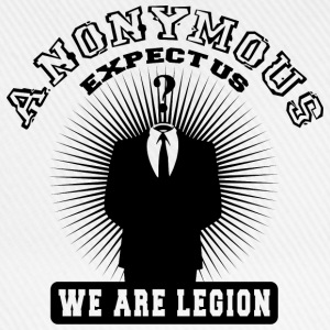 anonymous expect us Tee shirts - Casquette classique