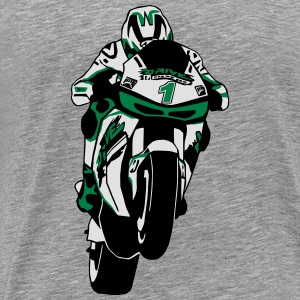 MotoGP Long sleeve shirts - Men's Premium T-Shirt