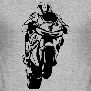 MotoGP Gensere - Slim Fit T-skjorte for menn