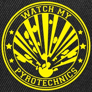 Watch my Pyrotechnics T-Shirts - Snapback Cap