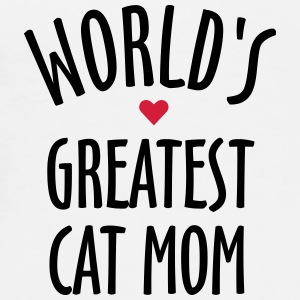 World's Greatest Cat Mom Tassen & rugzakken - Mannen Premium T-shirt