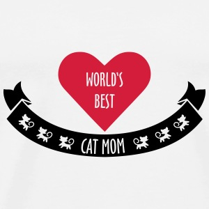 World's Best Cat Mom Bags & Backpacks - Men's Premium T-Shirt