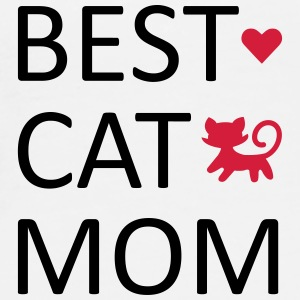 Best Cat Mom Mugs & Drinkware - Men's Premium T-Shirt