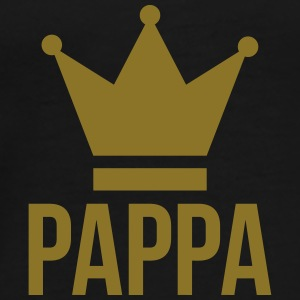 Pappa / Papa / Dad / Far / fars dag / verjaardag Caps & Hats - Men's Premium T-Shirt