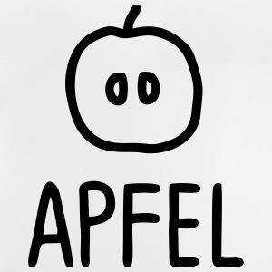 Apfel Hälfte mit Text T-Shirts - Baby T-Shirt