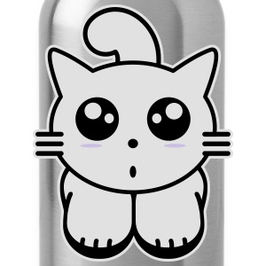 Kitty cat anime Shirts - Water Bottle