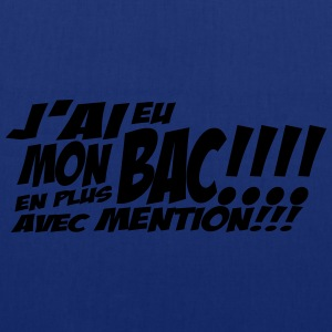 mon bac avec mention Tee shirts - Tote Bag