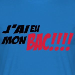 mon bac 1 Tabliers - T-shirt Homme