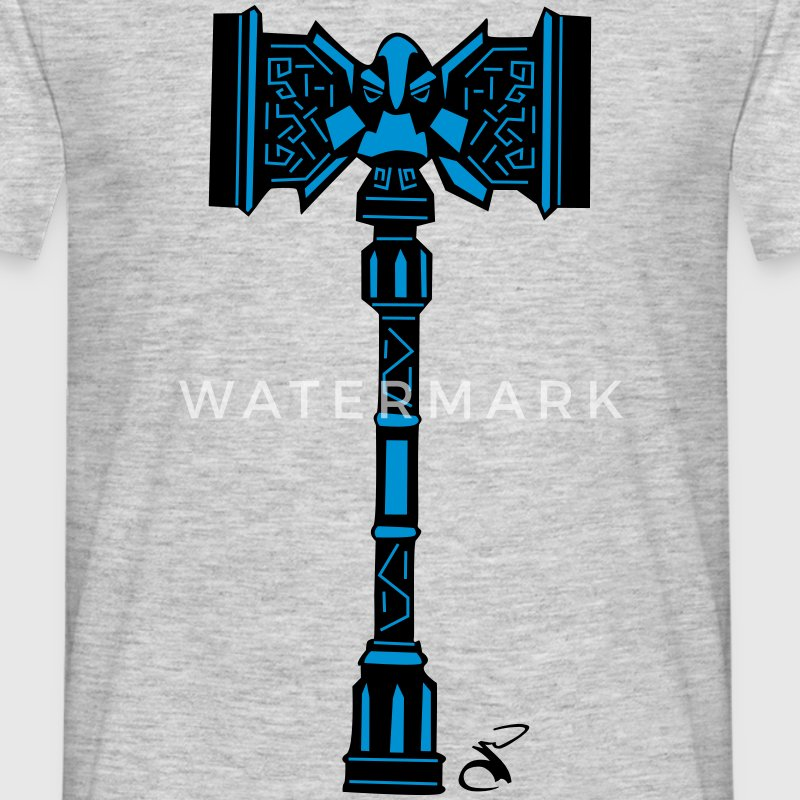 A Dwarven War Hammer Shirt - Men's T-Shirt
