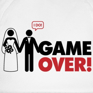 Game over. I am married. T-Shirts - Baseball Cap