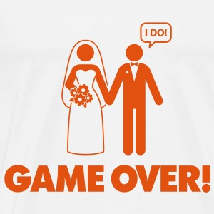 Game over. I am married. Tops - Men's Premium T-Shirt