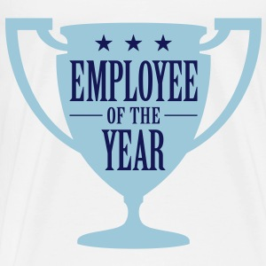 Employee of the Year! Bags & Backpacks - Men's Premium T-Shirt
