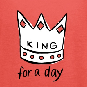 KING for a day - Vrouwen tank top van Bella