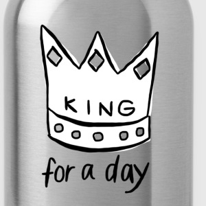 KING for a day - Drinkfles