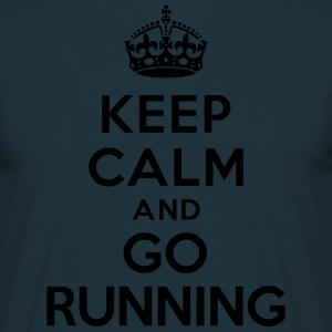 Keep calm and go running Tabliers - T-shirt Homme