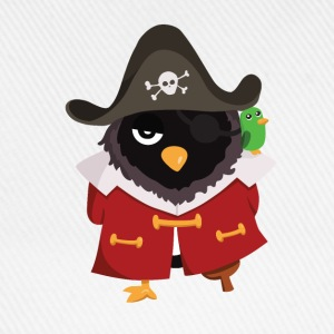 Pingouin pirate Tee shirts - Casquette classique