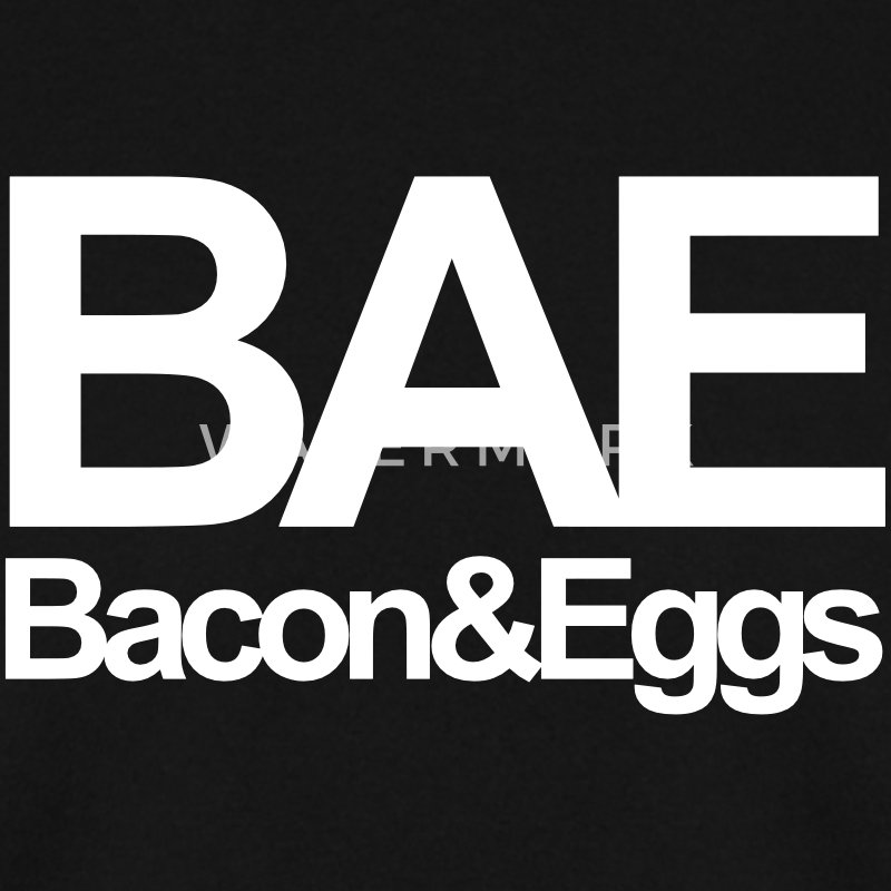 Bae Bacon & Eggs Sweat-shirts - Sweat-shirt Homme