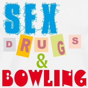 Sex, drugs & Bowling - Premium-T-shirt herr