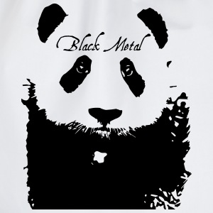 Black Metal Panda T-Shirts - Turnbeutel