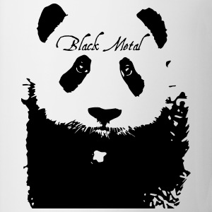 Black Metal Panda T-Shirts - Mug
