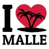 I love Malle Tops - Frauen Premium Tank Top