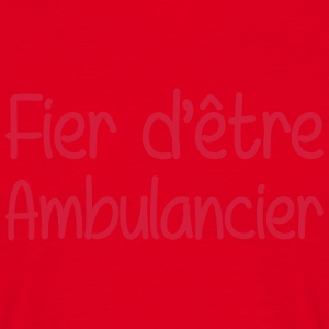 Ambulancier / Ambulance / Hôpital / Médecin Mugs & Drinkware - Men's T-Shirt