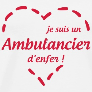 Ambulancier / Ambulance / Hôpital / Médecin Mugs & Drinkware - Men's Premium T-Shirt