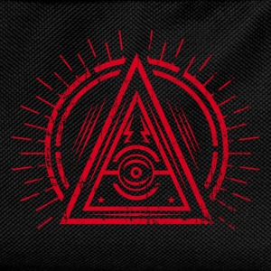 Illuminati - All Seeing Eye - Satan / Black Symbol Body neonato - Zaino per bambini