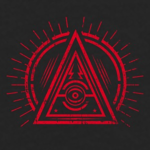 Illuminati - All Seeing Eye - Satan / Black Symbol Casquettes et bonnets - T-shirt manches longues Premium Homme