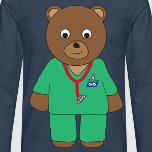 Doctor Bear T-Shirts - Men's Premium Longsleeve Shirt