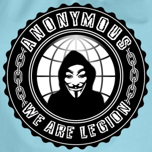 anonymous we are legion Tee shirts - Sac de sport léger