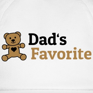 Dads Favorite vaders favoriet Shirts - Baseballcap