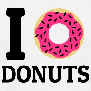 I love donuts Tops - Men's Premium T-Shirt