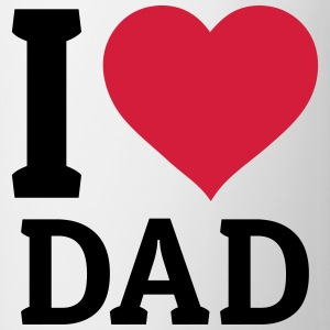 I love Dad jeg elsker far T-shirts - Kop/krus