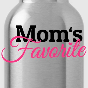 Moms Favorite moeders favoriet Shirts - Drinkfles
