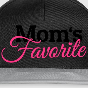 Moms Favorite moeders favoriet Shirts - Snapback cap