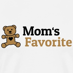 Moms Favorite moms favorit Toppe - Herre premium T-shirt