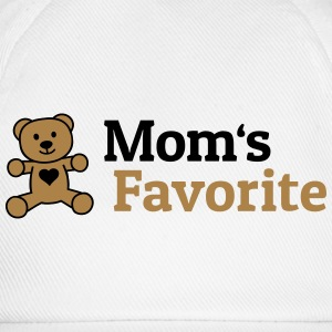 Moms Favorite moeders favoriet T-shirts - Baseballcap