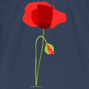 Poppy Tops - Men's Premium T-Shirt