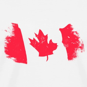 Canadian Maple Leaf Manga larga - Camiseta premium hombre