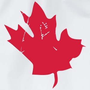 Canadian Maple Leaf Langærmede t-shirts - Sportstaske