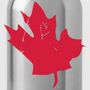 Canadian Maple Leaf Manches longues - Gourde