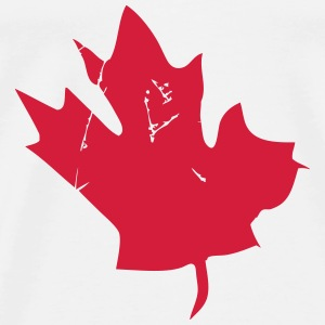 Canadian Maple Leaf Tops - Men's Premium T-Shirt
