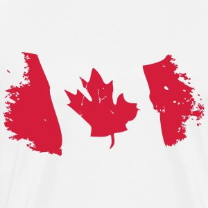 Canadian Maple Leaf  Aprons - Men's Premium T-Shirt