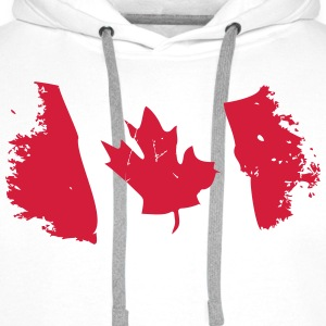 Canadian Maple Leaf T-shirts - Mannen Premium hoodie