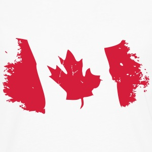 Canadian Maple Leaf T-shirts - Långärmad premium-T-shirt herr