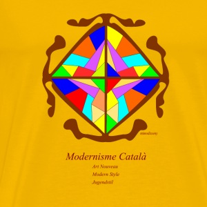 Modernisme català  Mugs & Drinkware - Men's Premium T-Shirt