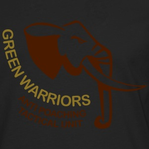 green warriors T-skjorter - Premium langermet T-skjorte for menn