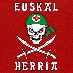 Pays Basque - Euskal Herria 17 Tee shirts - Casquette snapback