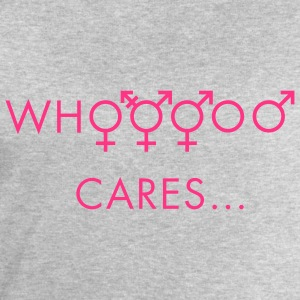 Grau meliert Who cares about gender T-Shirts - Männer Sweatshirt von Stanley & Stella